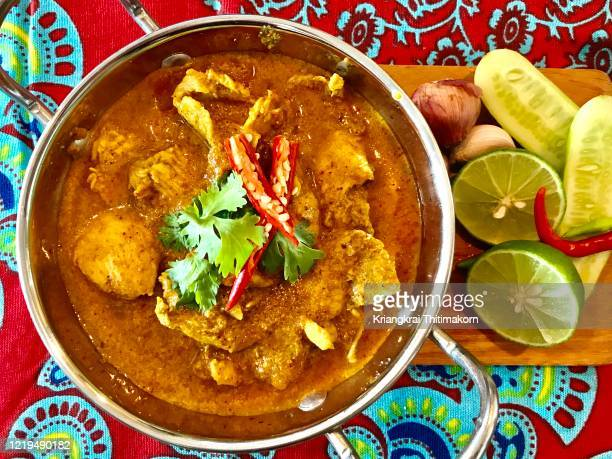 delicious chicken masala for lunch. - tikka masala stock pictures, royalty-free photos & images