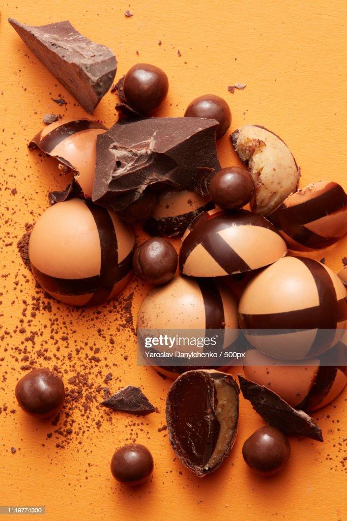 Delicious Chocolate Candies : Stock Photo