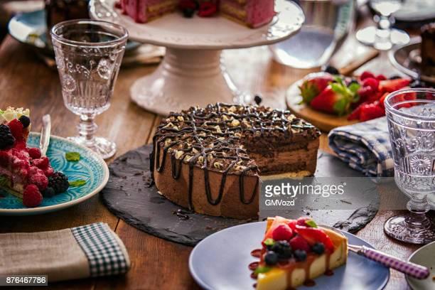 Heerlijke chocolade Layer Cake