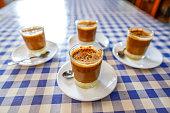 delicious coffee glasses