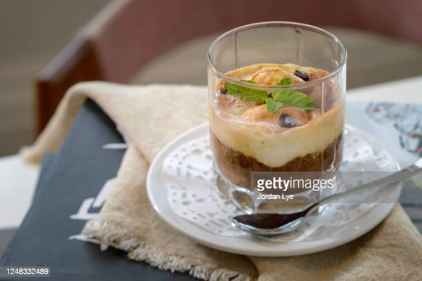 delicious dalgona coffee - dalgona stock pictures, royalty-free photos & images