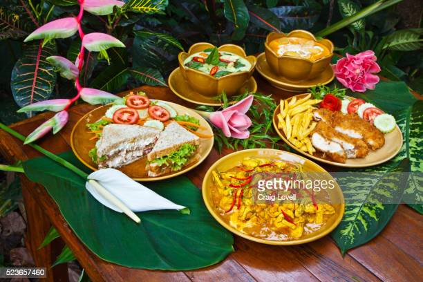 Delicious FOOD is served anytime at the RIVERSIDE COTTAGES in KHO SOK, a perfect place to stay to visit Kho Sok National Park