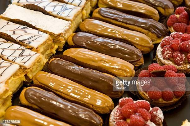 De délicieuses pâtisseries françaises