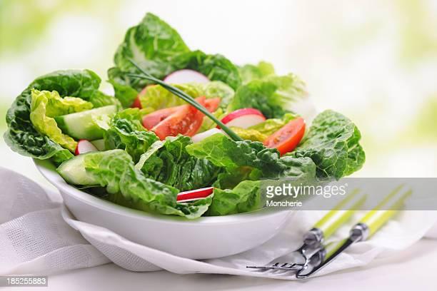 美味しいグリーンサラダ