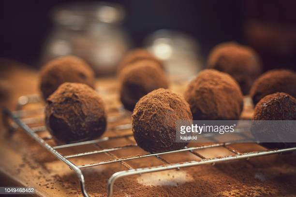Delicious Homemade Chocolate Truffles