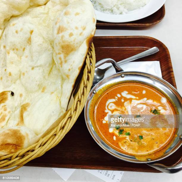 delicious indian butter chicken - butter chicken stock photos and pictures