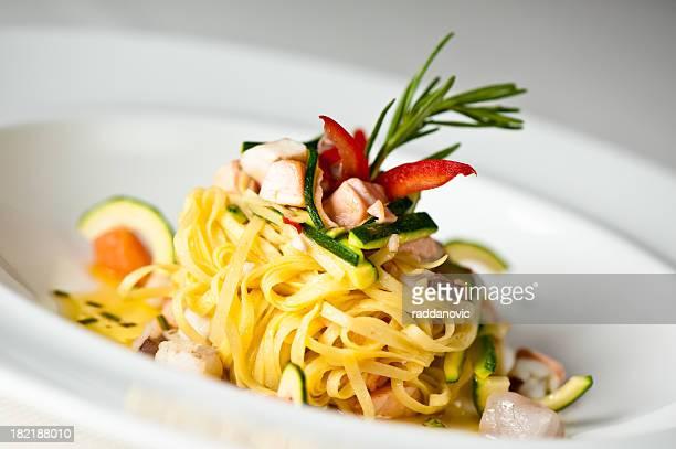 Delicious italian pasta
