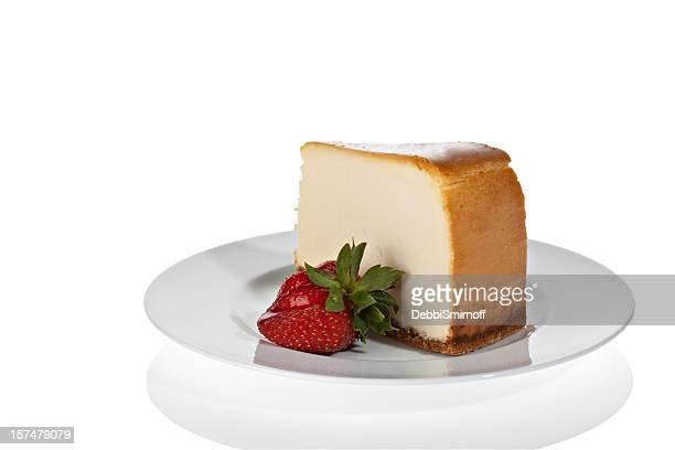 美味しいニューヨーク風チーズケーキ