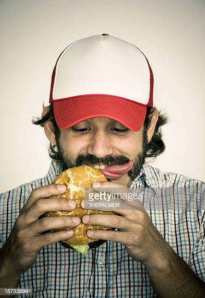 delicious - trucker's hat stock pictures, royalty-free photos & images