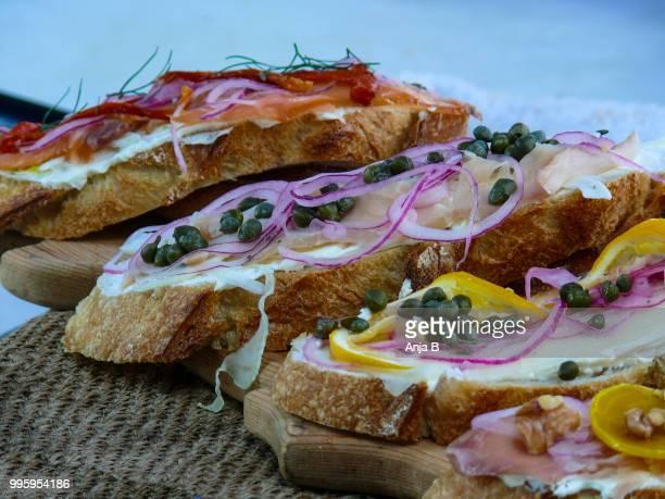 delicious - anja lunch stock-fotos und bilder