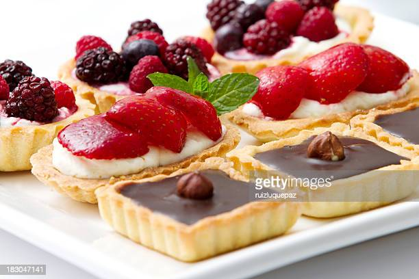 Delicious pies and pastries