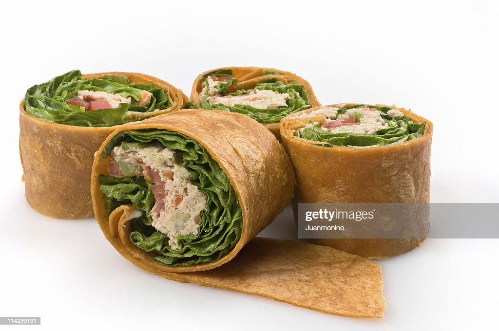 A delicious tuna salad sandwich : Stock Photo