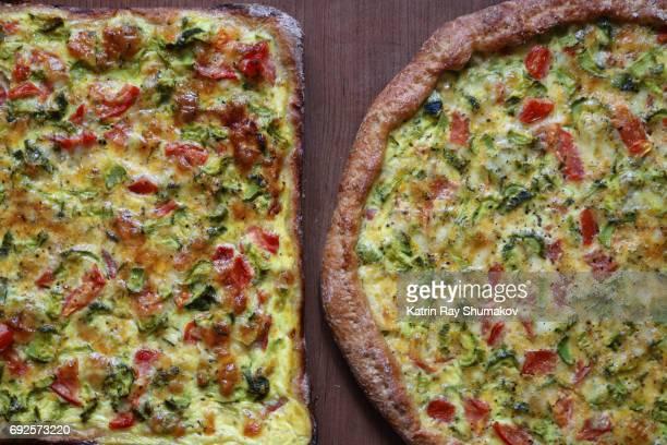Delicious Vegetarian Pizza