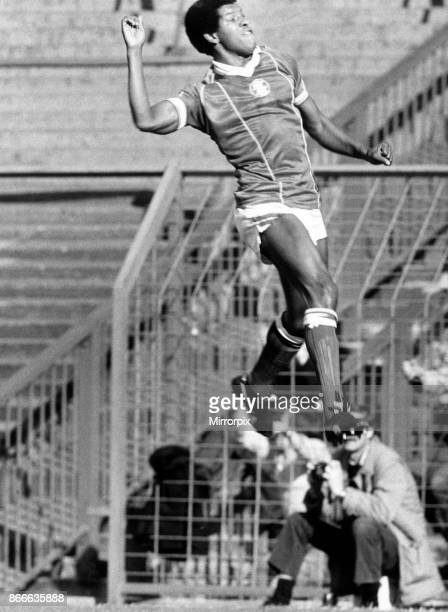 Delight for Birmingham City player Howard Gayle as he scores against Ipswich Birmingham City v Ipswich Town League Division One Final score 10 to...