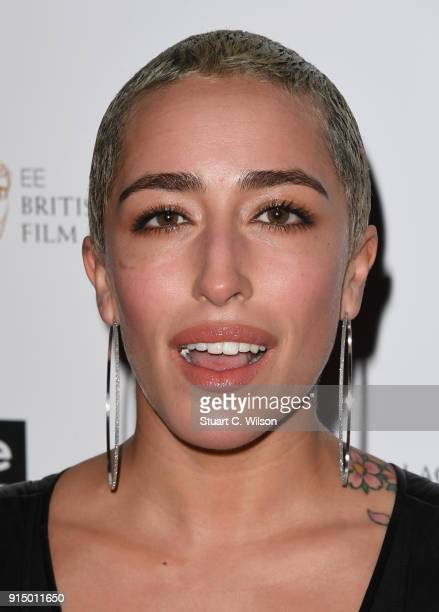 Delilah attends the EE InStyle Party held at Granary Square Brasserie on February 6 2018 in London England
