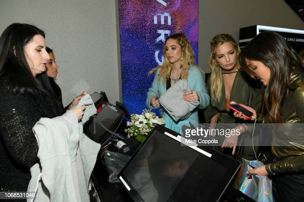 Delilah Belle and Lexi Ayer attend as COVERGIRL Opens The Doors To Their First Flagship Store; An Experiential Makeup Playground on December 4, 2018...