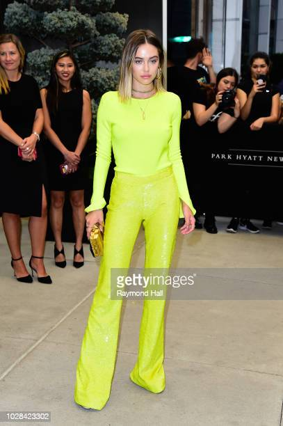 Delilah Belle attends The Daily Front Row 6th Annual Fashion Media Awards at Park Hyatt on September 6 2018 in New York City