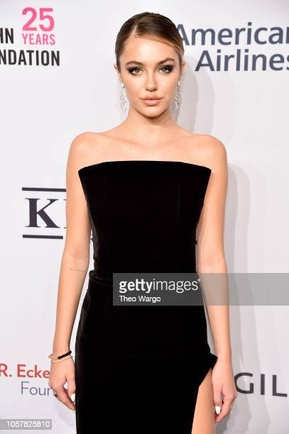Delilah Belle attends the Elton John AIDS Foundation's 17th Annual An Enduring Vision Benefit at Cipriani 42nd Street on November 5 2018 in New York...