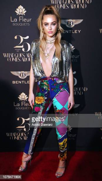 Delilah Belle attends What Goes Around Comes Around 25th Anniversary Celebration At The Versace Mansion With a Retrospective Tribute To Gianni...
