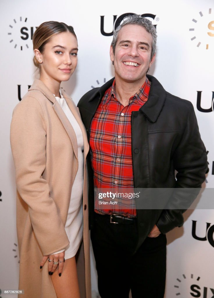Delilah Belle Hamlin and Andy Cohen attend the UGG x
