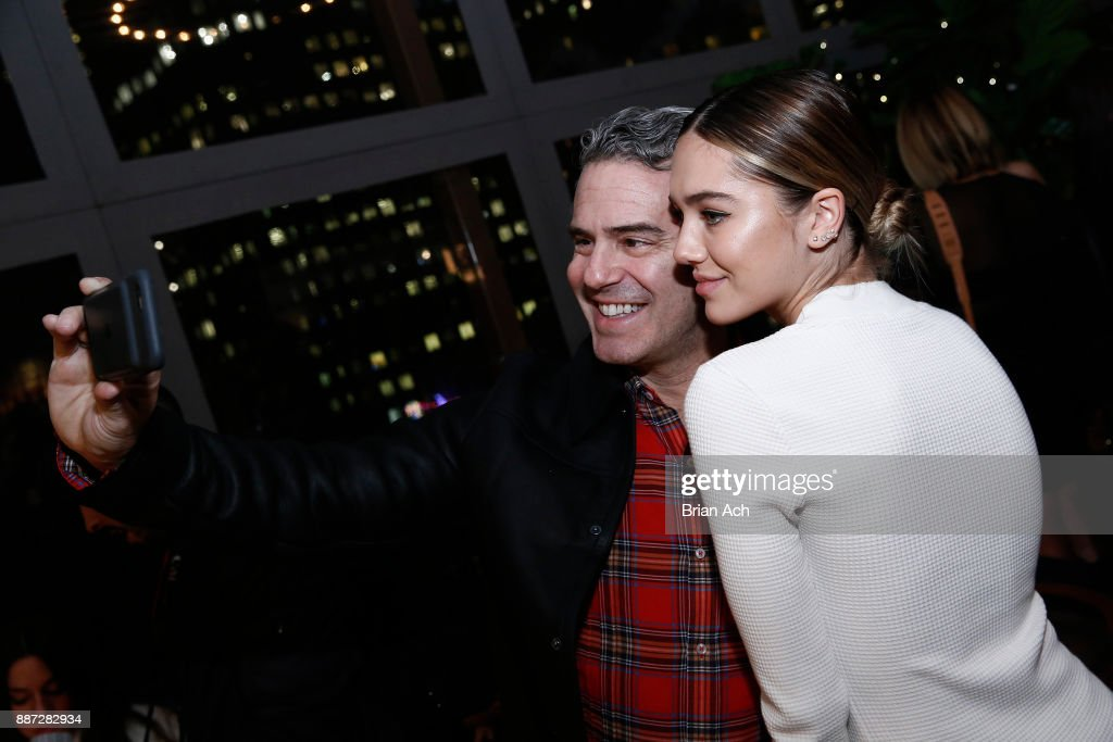 Delilah Belle Hamlin (R) and Andy Cohen attend the UGG x