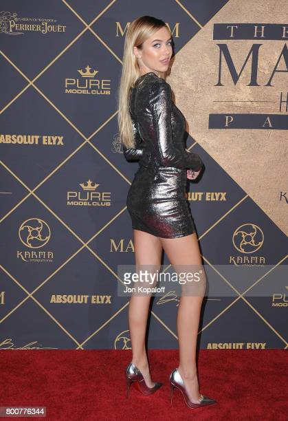 Delilah Belle Hamlin arrives at The 2017 MAXIM Hot 100 Party at Hollywood Palladium on June 24 2017 in Los Angeles California