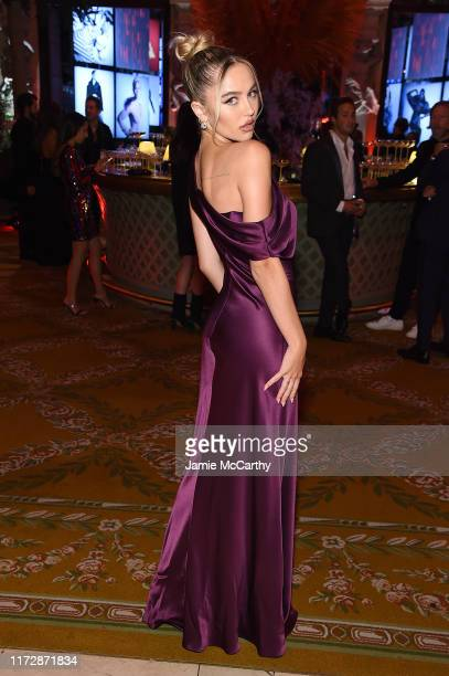 Delilah Belle Hamlin attends as Harper's BAZAAR celebrates ICONS By Carine Roitfeld at The Plaza Hotel presented by Cartier Inside on September 06...