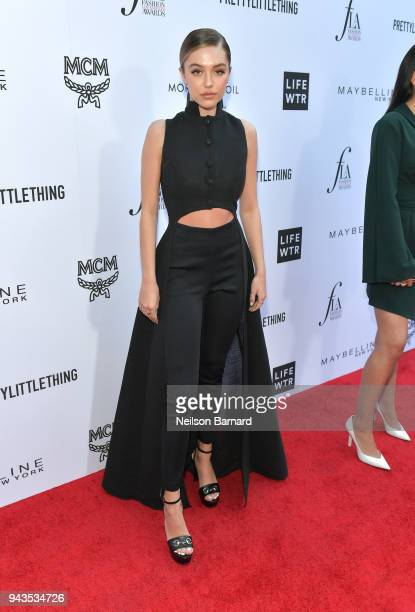 Delilah Belle Hamlin attends The Daily Front Row's 4th Annual Fashion Los Angeles Awards at Beverly Hills Hotel on April 8 2018 in Beverly Hills...