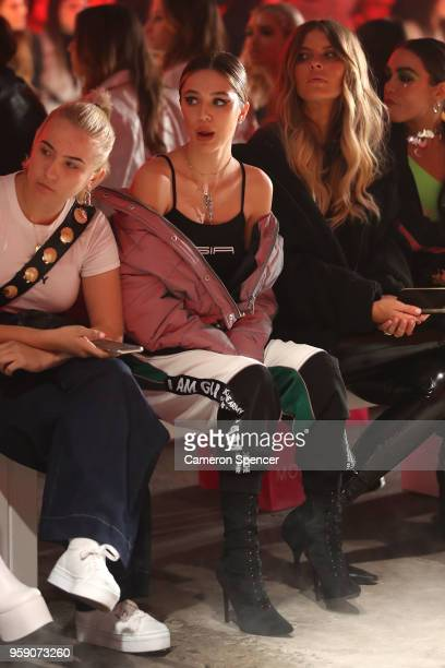 Delilah Belle Hamlin attends the IAMGIA show at MercedesBenz Fashion Week Resort 19 Collections at Carriageworks on May 16 2018 in Sydney Australia
