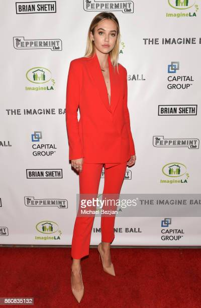 Delilah Belle Hamlin attends The Imagine Ball 2017 on October 12 2017 in West Hollywood California