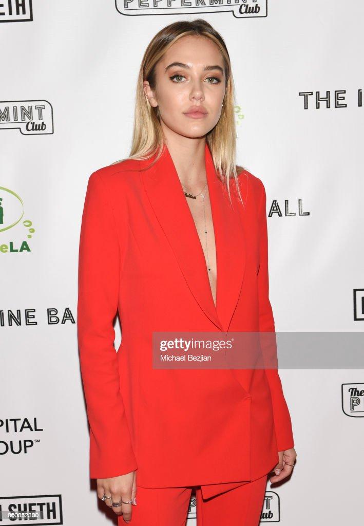 Delilah Belle Hamlin attends The Imagine Ball 2017 on October 12, 2017 in West Hollywood, California.