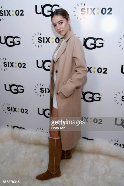 Delilah Belle Hamlin attends the UGG x SIX02 holiday event on December 6 2017 in New York City