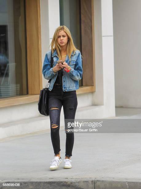 Delilah Belle Hamlin is seen on May 25 2017 in Los Angeles California