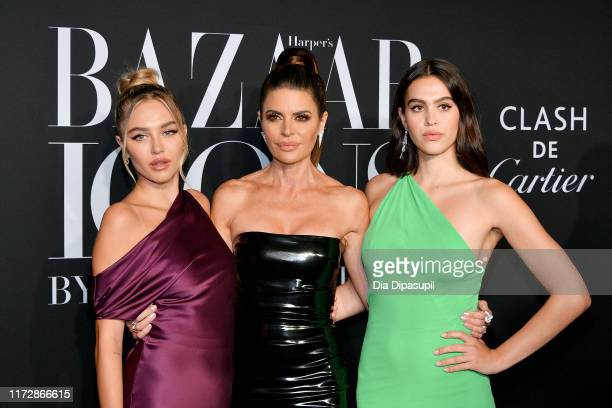 Delilah Belle Hamlin, Lisa Rinna, and Amelia Gray attend the 2019 Harper's Bazaar ICONS on September 06, 2019 in New York City.