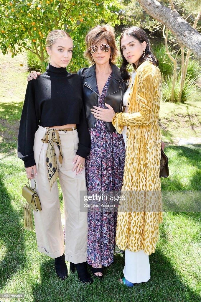 Cindy Crawford and Kaia Gerber host Best Buddies Mother's Day Brunch in Malibu, CA sponsored by David Yurman