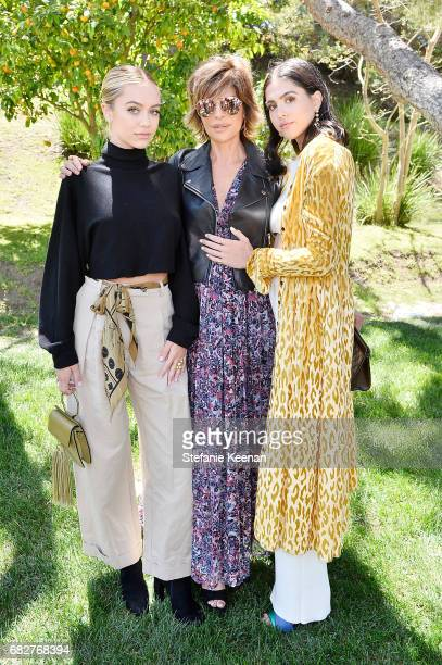 Delilah Belle Hamlin Lisa Rinna and Amelia Gray Hamlin attend Cindy Crawford and Kaia Gerber host Best Buddies Mother's Day Brunch in Malibu CA...