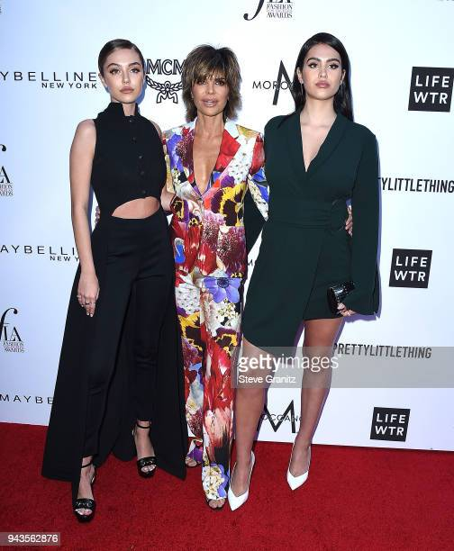 Delilah Belle HamlinLisa RinnaAmelia Gray Hamlin arrives at the The Daily Front Row's 4th Annual Fashion Los Angeles Awards at Beverly Hills Hotel on...