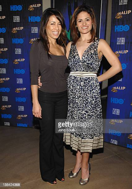 Delilah Cotto and Ellie Estrada during NALIP 8th Annual National Conference Presented by HBO and the National Latino Media Council at Newport Beach...