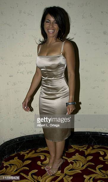Delilah Cotto during 2002 ALMA PreAwards Gala at The Regal Biltmore Hotel in Los Angeles California United States