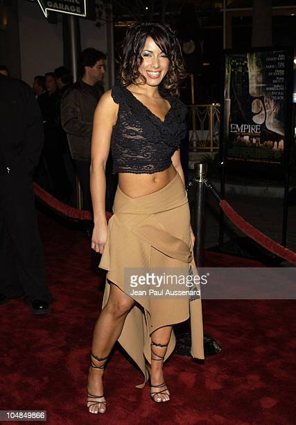 Delilah Cotto during Empire Premiere Los Angeles at Universal Citywalk Cinemas in Universal City California United States