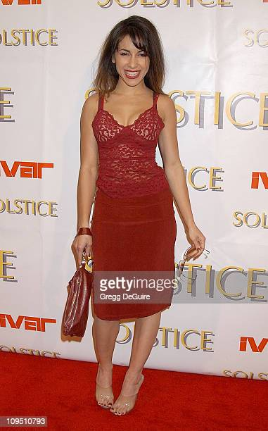 Delilah Cotto during Safilo USA Hosts CelebrityStudded Spring 2003 Designer Sunglass Fashion Show Extravaganza and Launch Party for the New Beverly...