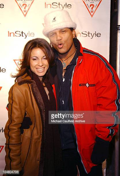 Delilah Cotto Franc Reyes during 2002 Sundance Film Festival In Style Guess Party at Zoom in Park City Utah United States