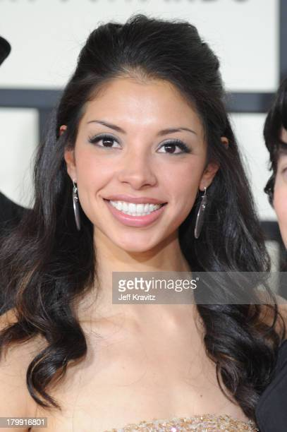 Delilah DiCrescenzo who inspired the song Hey There Delilah arrives to the 50th Annual GRAMMY Awards at the Staples Center on February 10 2008 in Los...