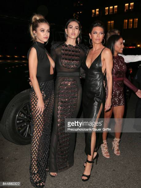 Delilah Hamlin Amelia Hamlin and Lisa Rinna are seen attending Harper's BAZAAR Celebration of 'ICONS By Carine Roitfeld' at The Plaza Hotel on...