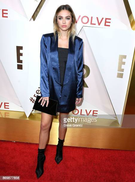 Delilah Hamlin arrives at the #REVOLVEawards at DREAM Hollywood on November 2 2017 in Hollywood California