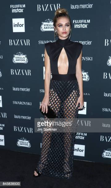Delilah Hamlin attends the 2017 Harper's Bazaar Icons at The Plaza Hotel on September 8 2017 in New York City