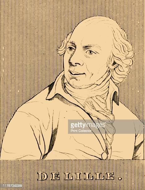 Delille' 1830 Jacques Delille French poet freemason and translator professor of Latin poetry who left Paris during the French Revolution From...