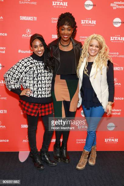 Delina Medhin, Franchesca Ramsey and Annette Roche attends the Indie Episodic Program 1 during 2018 Sundance Film Festival at The Ray on January 23,...