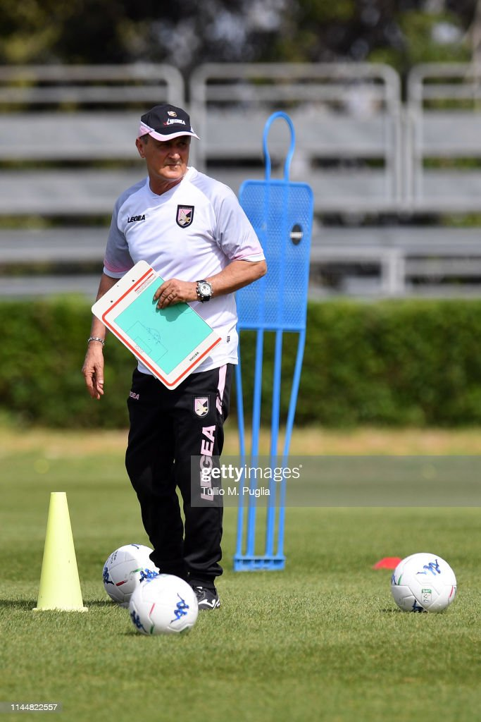 ITA: US Citta di Palermo Training Session And Press Conference