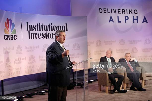 EVENTS Delivering Alpha 2014 Pictured Larry Robbins Founder Portfolio Manager and Chief Executive Officer Glenview Capital Management Michael...